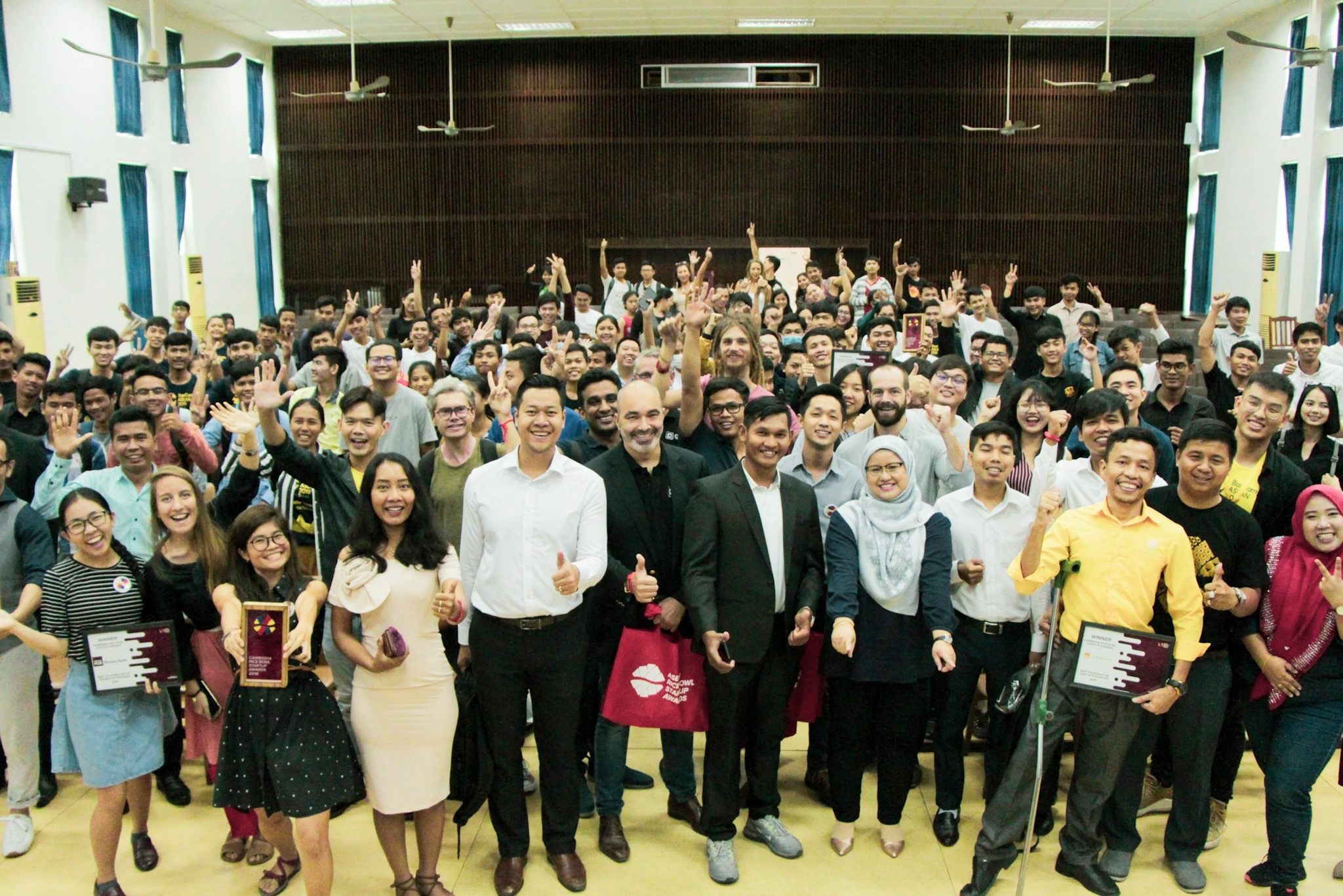 2019 Cambodia Rice Bowl Startup Awards