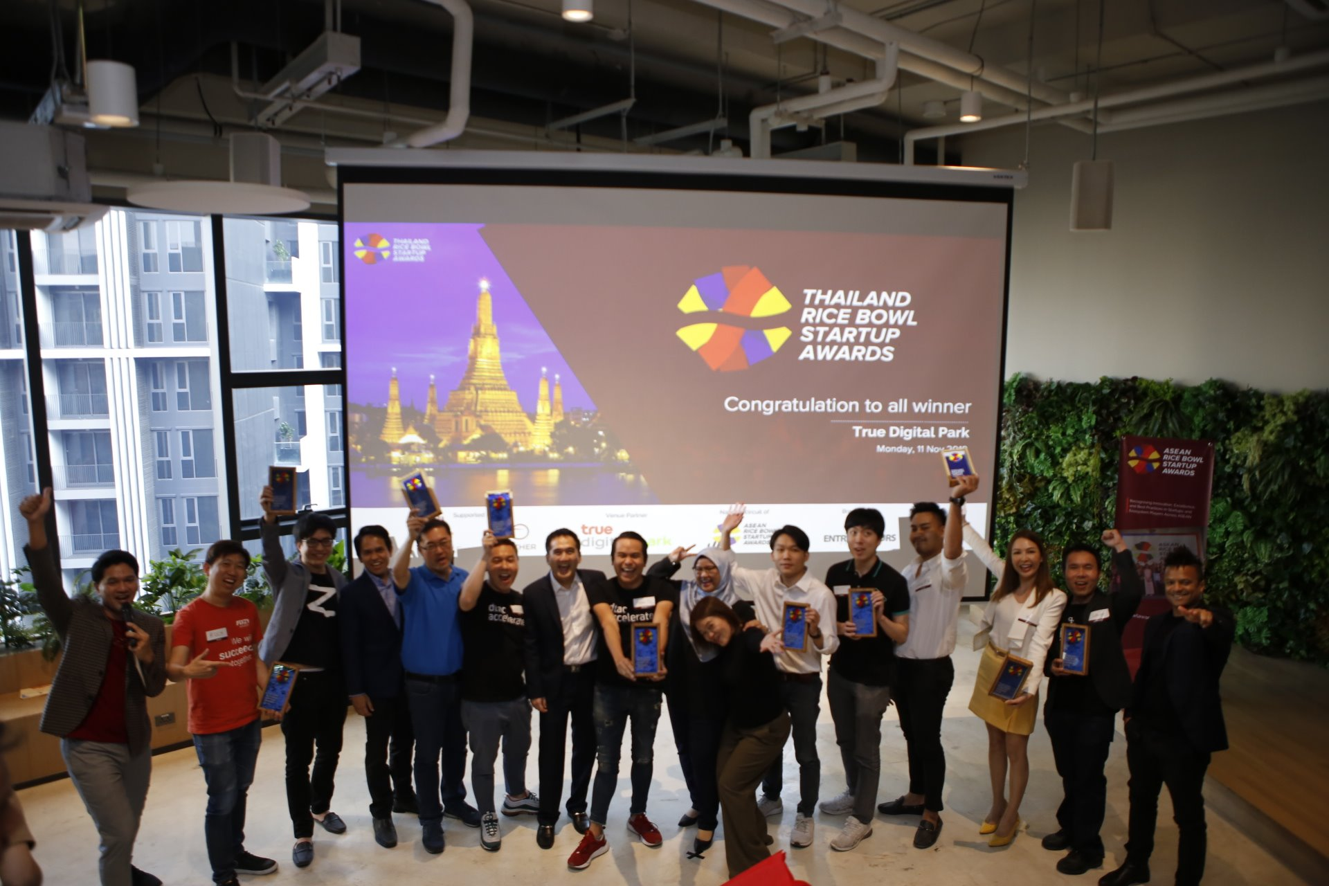 2019 Thailand Rice Bowl Startup Awards