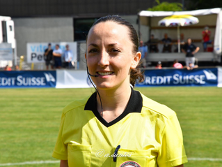 Laetitia Nuara, 1ère expérience internationale à Cardiff.