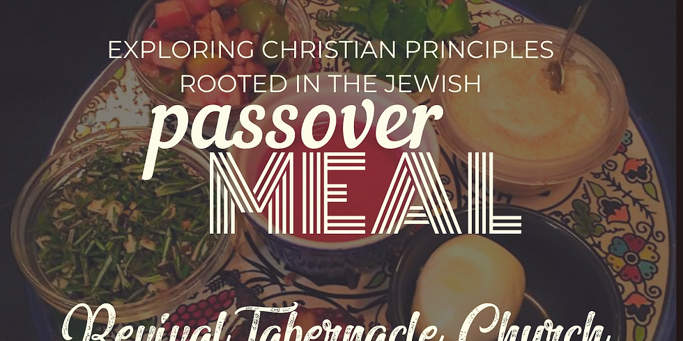 Passover Meal through Facebook Live
