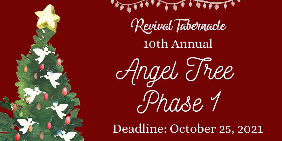 Angel Tree 2021 -  Phase 1