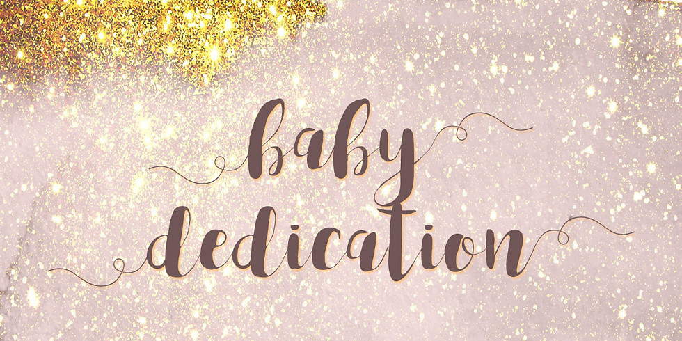 Family Baby Dedication