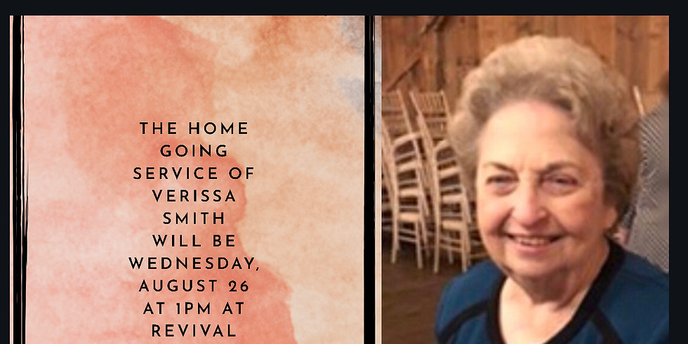 Homegoing Service for Verissa Smith