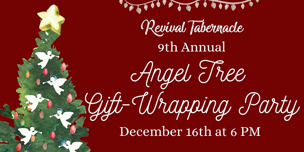 Angel Tree - Gift Wrapping Phase