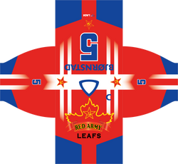 Red Army Jersey Design