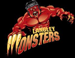 Langley Monsters Logo