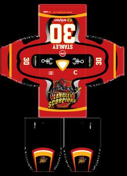 Langley Scorpions Jerseys