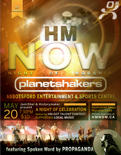 2012-HM NOW with PLANETSHAKERS