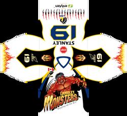 Langley Monsters Jersey Design
