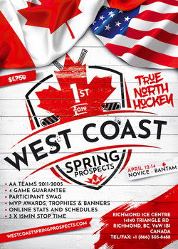 West Coast Spring Prospects AA Poster