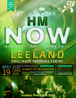 HM NOW 2013 with Leeland