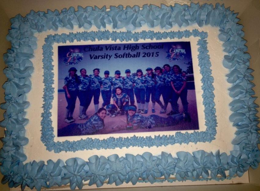 CVHS varsity cake