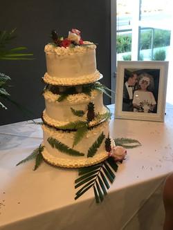 3 Tier Anniversary Cake