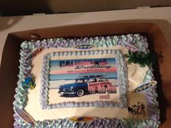 Custom Graphic cake