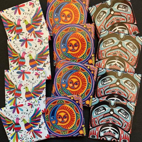 Global Patterns Pin Set