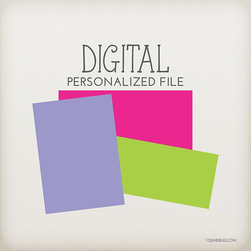 Personalized Digital File