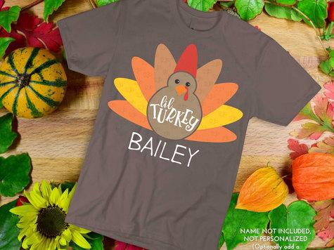 Lil' Turkey SVG Cut File