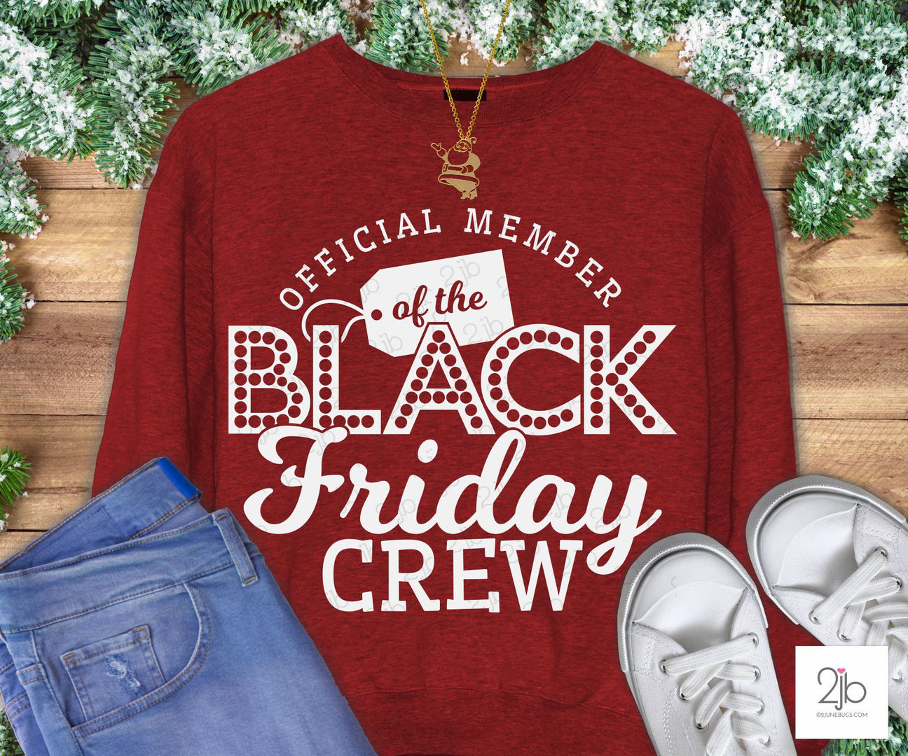 Black Friday Crew SVG Cut File