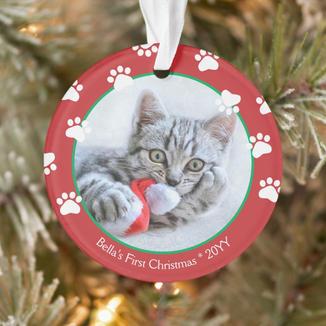cute_cat_first_christmas_paw_prints_red_green_ornament-r77aea9858e374fc19dc4e4d96c7b98a0_0