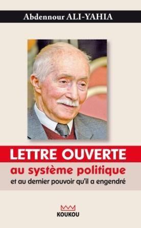 Lettre ouverte au système politique...
