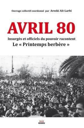 Avril 80 : le Printemps berbère