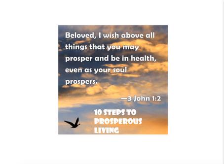 10 Steps to Prosperous Living