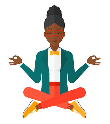 black girl with glassess meditation.jpg