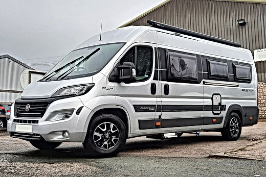 Luxury 4 berth campervan.