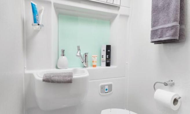Swift Select Shower room.