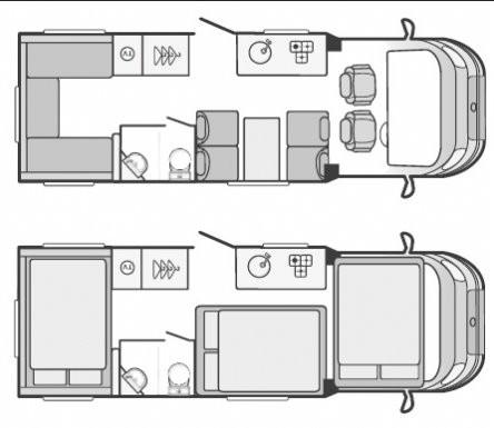 Swift Escape Floorplan