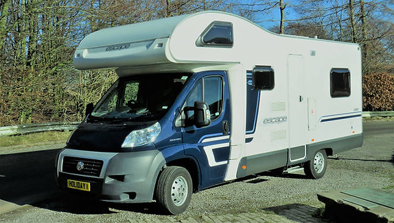 6 Berth dog friendly motorhome.