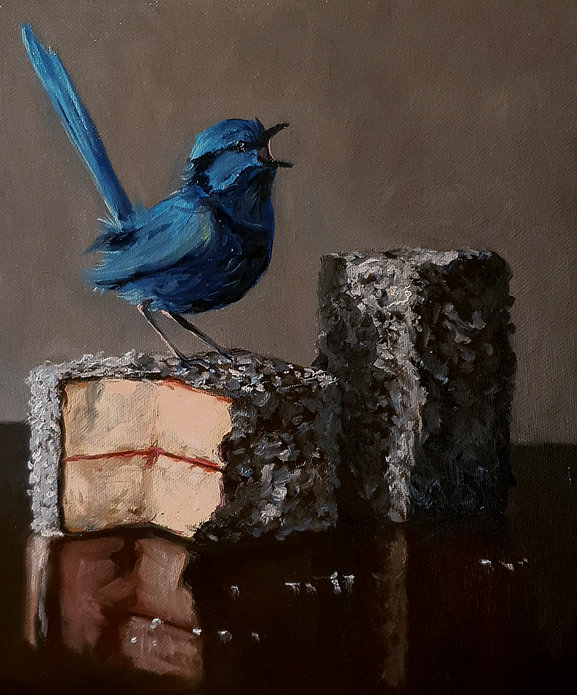 lammingtons and blue wren.jpg