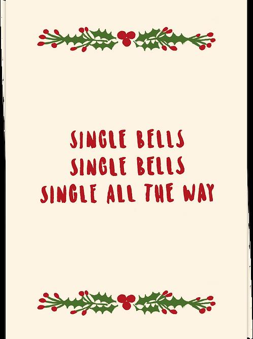 Card Single Bells - 68613