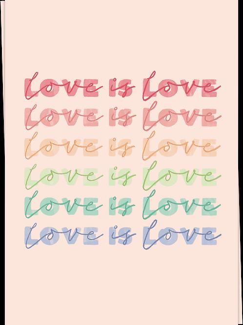 Card Love Is Love - 60613
