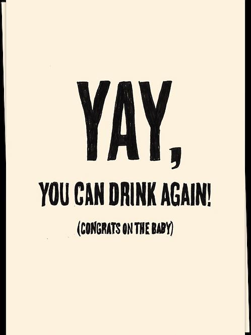 Card Drink Again - 60613