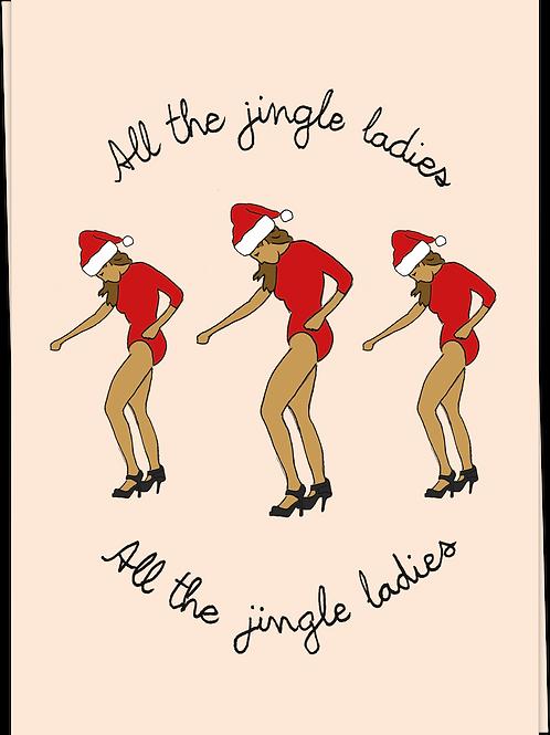 Card Jingle Ladies - 60613