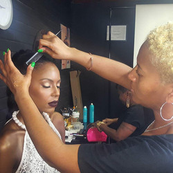 BTS Photo Shoot with Jade Multicultural Salon