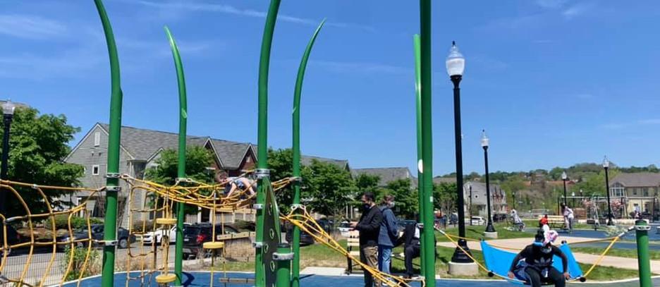 Liberty Green park Ribbon Cutting