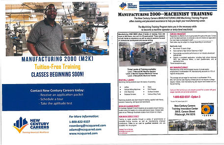 Manufacturing 2000 Machinist Training Fl