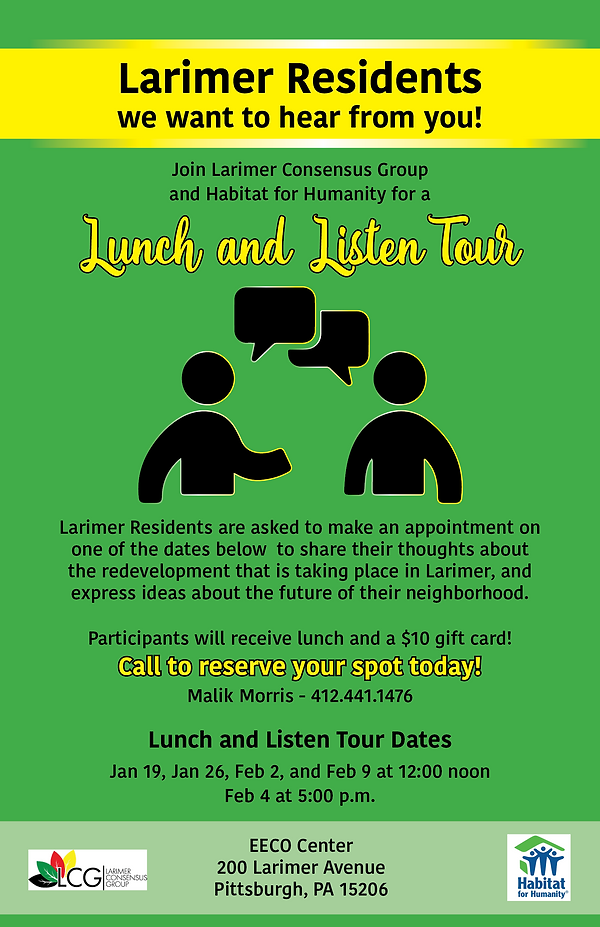 lunch and listen tour larimar revised 1: