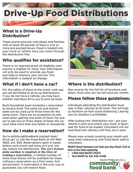 Mar-June-2021 Drive-Up-Food-Distribution