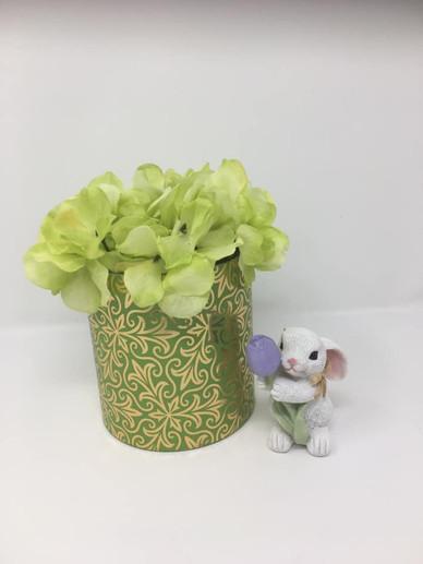 Green Flower & Rabbit Centerpiece.jpg