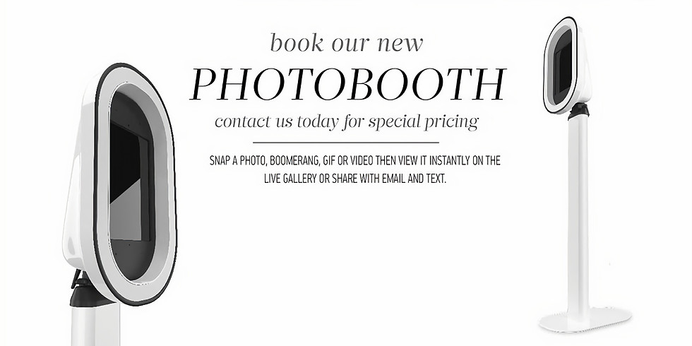 WE OFFER THE PHOTO-BOOTH