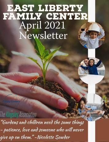 April Newsletter Cover