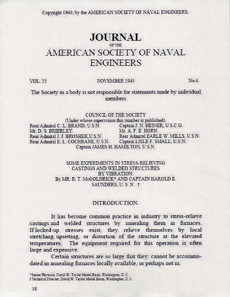 1st VSR tech paper / 1943 / in Advanced VSR Technical Library