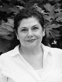 Helen Alexoudis-Valdez Black and White Portrait