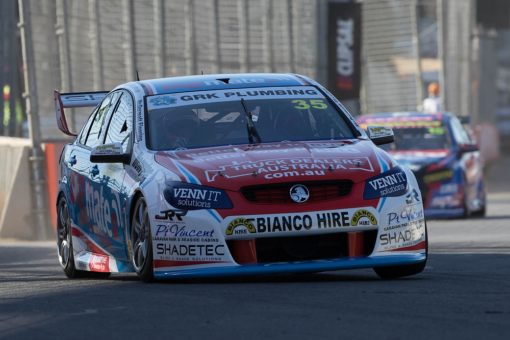Todd in action at the 2017 Clipsal 500