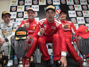 LOWNDES, WHINCUP AND VILANDER WIN FOR FERRARI