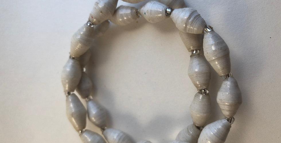 Bracelet ougandais - gris