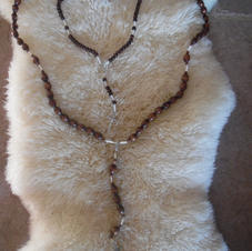 3 Handmade Rosaries (2 Small and 1 Extra Large)
